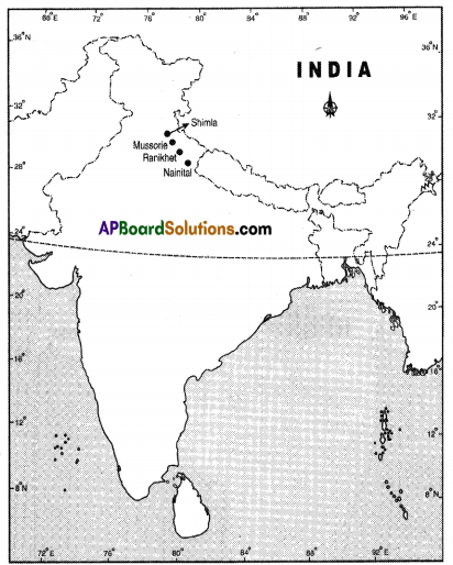 AP SSC 10th Class Social Studies Solutions Chapter 1 India Relief Features Q18