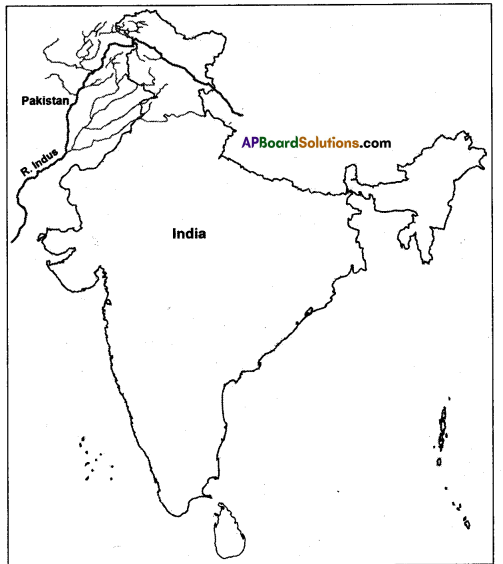 AP SSC 10th Class Social Studies Solutions Chapter 5 Indian Rivers and Water Resources 2