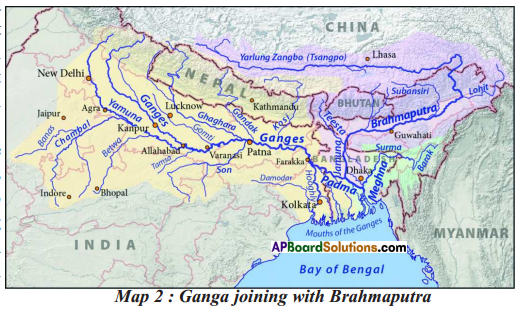 AP SSC 10th Class Social Studies Solutions Chapter 5 Indian Rivers and Water Resources 3
