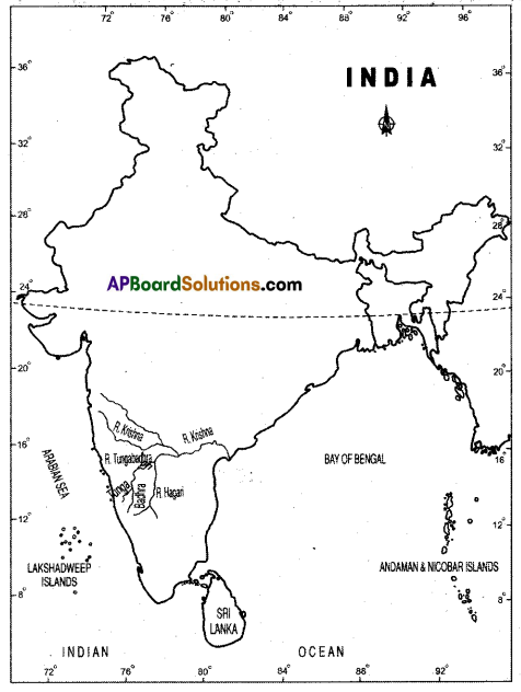 AP SSC 10th Class Social Studies Solutions Chapter 5 Indian Rivers and Water Resources 4