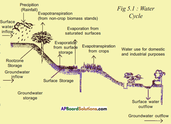 AP SSC 10th Class Social Studies Solutions Chapter 5 Indian Rivers and Water Resources 5