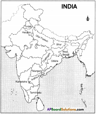 AP Board 9th Class Social Studies Important Questions Chapter 6 Agriculture in India 1