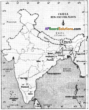 AP Board 9th Class Social Studies Important Questions Chapter 7 Industries in India 1