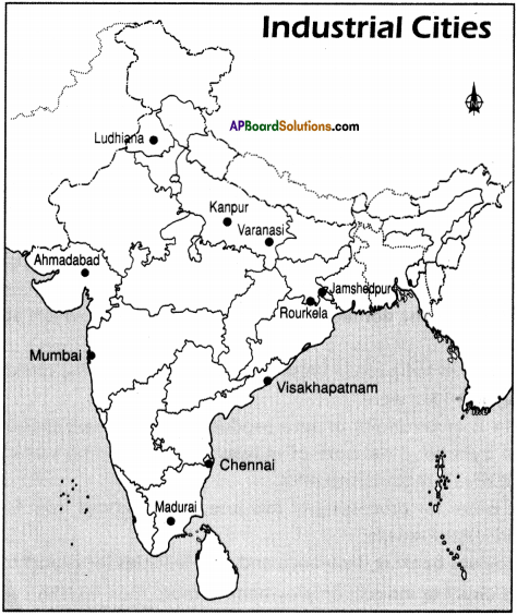 AP Board 9th Class Social Studies Important Questions Chapter 7 Industries in India 6