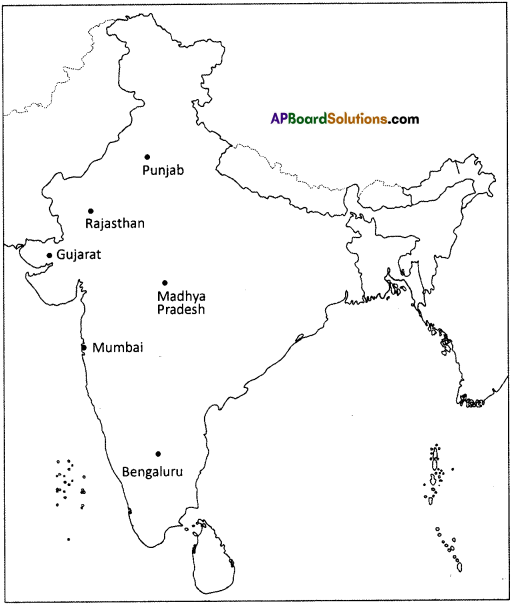 AP Board 9th Class Social Studies Solutions Chapter 6 Agriculture in India 1