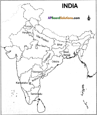 AP Board 9th Class Social Studies Solutions Chapter 6 Agriculture in India 4