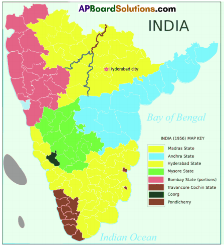 AP SSC 10th Class Social Studies Important Questions Chapter 18 Independent India (The First 30 years – 1947-77) 3