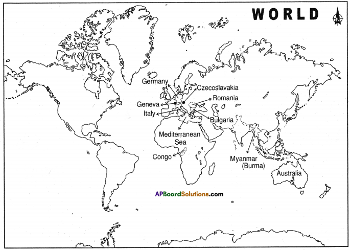 AP SSC 10th Class Social Studies Important Questions Chapter 20 Post – War World and India 6