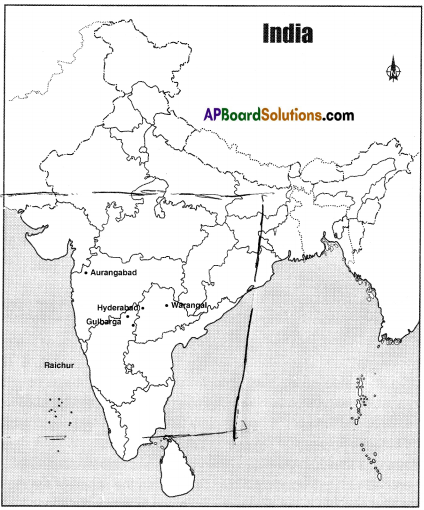 AP Board 8th Class Social Studies Solutions Chapter 12 Freedom Movement in Hyderabad State 1
