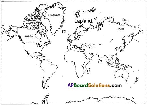 AP Board 8th Class Social Studies Solutions Chapter 4 The Polar Regions 3