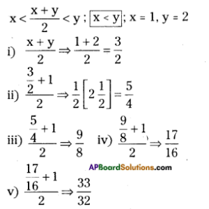 AP Board 9th Class Maths Solutions Chapter 1 Real Numbers Ex 1.1 1