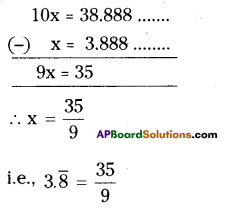 AP Board 9th Class Maths Solutions Chapter 1 Real Numbers Ex 1.1 11