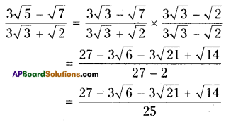 AP Board 9th Class Maths Solutions Chapter 1 Real Numbers Ex 1.4 9