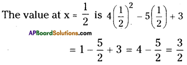 AP Board 9th Class Maths Solutions Chapter 2 Polynomials and Factorisation Ex 2.2 1