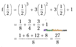 AP Board 9th Class Maths Solutions Chapter 2 Polynomials and Factorisation Ex 2.3 1