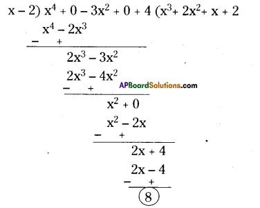 AP Board 9th Class Maths Solutions Chapter 2 Polynomials and Factorisation Ex 2.3 5