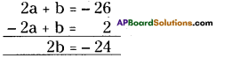 AP Board 9th Class Maths Solutions Chapter 2 Polynomials and Factorisation Ex 2.3 7