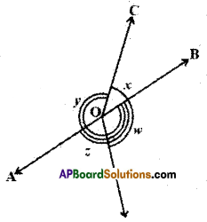 AP Board 9th Class Maths Solutions Chapter 4 Lines and Angles Ex 4.2 10