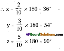 AP Board 9th Class Maths Solutions Chapter 4 Lines and Angles Ex 4.2 2