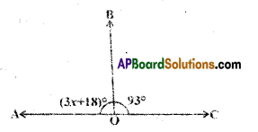 AP Board 9th Class Maths Solutions Chapter 4 Lines and Angles Ex 4.2 3