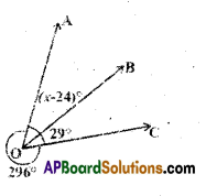 AP Board 9th Class Maths Solutions Chapter 4 Lines and Angles Ex 4.2 4