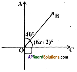 AP Board 9th Class Maths Solutions Chapter 4 Lines and Angles Ex 4.2 6