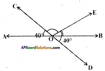 AP Board 9th Class Maths Solutions Chapter 4 Lines and Angles Ex 4.2 7
