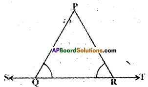 AP Board 9th Class Maths Solutions Chapter 4 Lines and Angles Ex 4.2 9