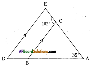 AP Board 9th Class Maths Solutions Chapter 4 Lines and Angles Ex 4.4 16