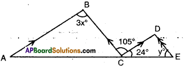 AP Board 9th Class Maths Solutions Chapter 4 Lines and Angles Ex 4.4 3