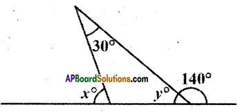 AP Board 9th Class Maths Solutions Chapter 4 Lines and Angles Ex 4.4 7