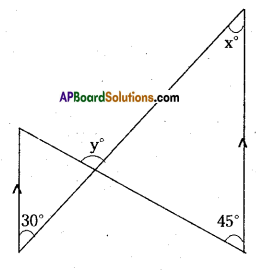 AP Board 9th Class Maths Solutions Chapter 4 Lines and Angles Ex 4.4 8