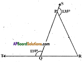 AP Board 9th Class Maths Solutions Chapter 4 Lines and Angles Ex 4.4 9