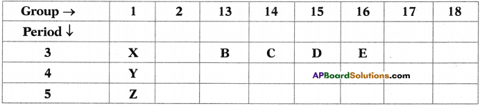 AP SSC 10th Class Chemistry Important Questions Chapter 9 Classification of Elements- The Periodic Table 17