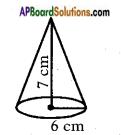 AP SSC 10th Class Maths Solutions Chapter 10 Mensuration Ex 10.1 3