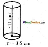 AP SSC 10th Class Maths Solutions Chapter 10 Mensuration Ex 10.1 6
