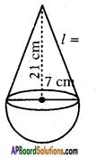 AP SSC 10th Class Maths Solutions Chapter 10 Mensuration Ex 10.3 2