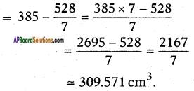 AP SSC 10th Class Maths Solutions Chapter 10 Mensuration Ex 10.3 8