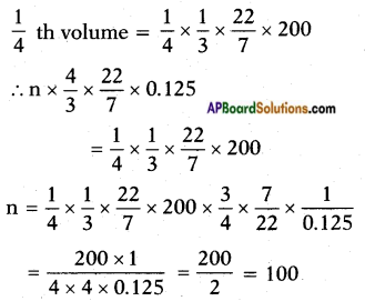 AP SSC 10th Class Maths Solutions Chapter 10 Mensuration Ex 10.4 8