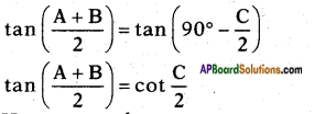 AP SSC 10th Class Maths Solutions Chapter 11 Trigonometry Ex 11.3 2