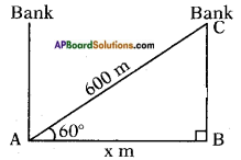 AP SSC 10th Class Maths Solutions Chapter 12 Applications of Trigonometry Ex 12.1 8