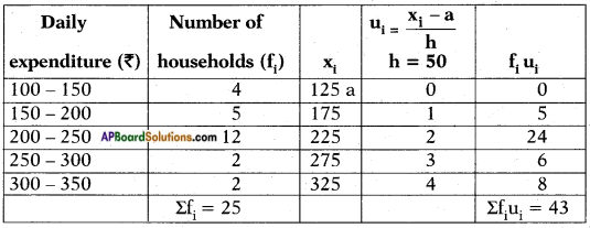AP SSC 10th Class Maths Solutions Chapter 14 Statistics Ex 14.1 12