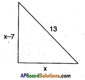 AP SSC 10th Class Maths Solutions Chapter 5 Quadratic Equations Ex 5.2 1