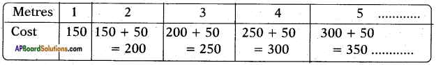 AP SSC 10th Class Maths Solutions Chapter 6 Progressions Ex 6.1 1