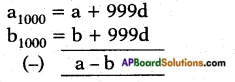 AP SSC 10th Class Maths Solutions Chapter 6 Progressions Ex 6.2 10