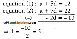 AP SSC 10th Class Maths Solutions Chapter 6 Progressions Ex 6.2 14
