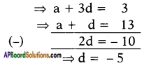 AP SSC 10th Class Maths Solutions Chapter 6 Progressions Ex 6.2 3