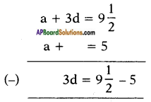 AP SSC 10th Class Maths Solutions Chapter 6 Progressions Ex 6.2 4