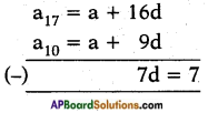 AP SSC 10th Class Maths Solutions Chapter 6 Progressions Ex 6.2 9