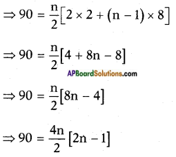 AP SSC 10th Class Maths Solutions Chapter 6 Progressions Ex 6.3 3
